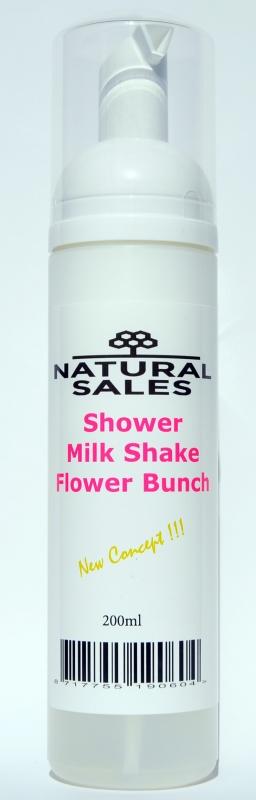 Shower Foam Milk Shake  Flower Bunch