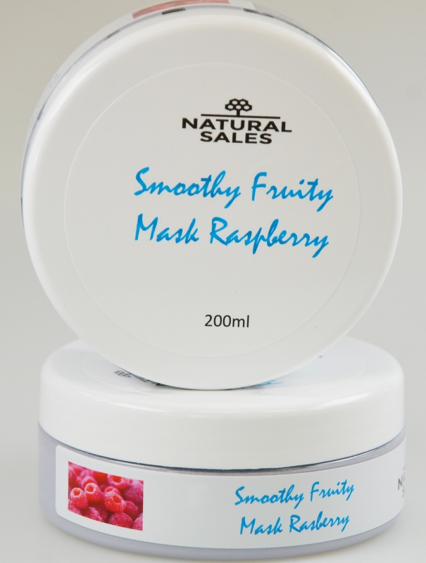Smoothy Fruity Facial MASK Raspberry (Framboos)